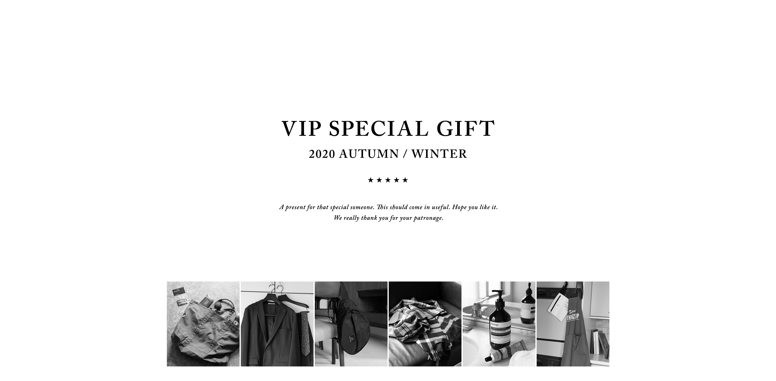 VIP SPECIAL GIFT 2020 SUMMER
