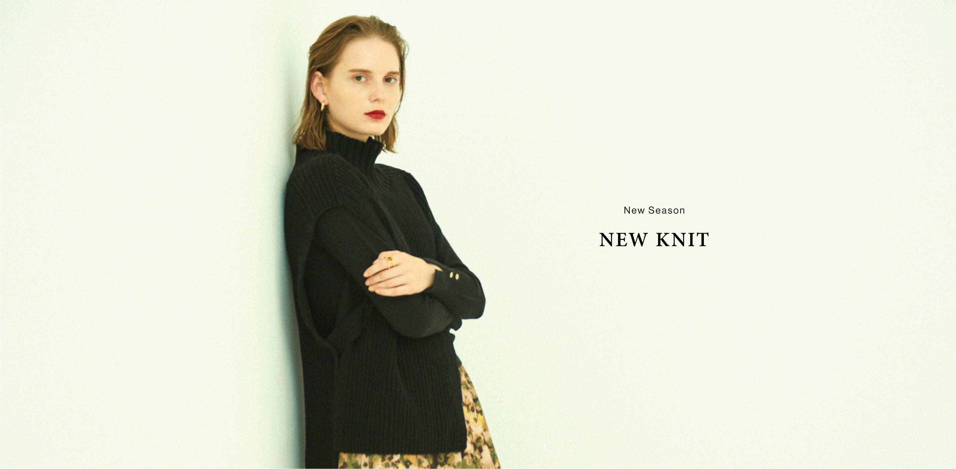 EMMEL REFINES -New Season NEW KNIT-